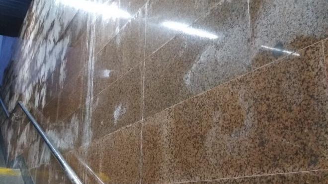 Сразу три новые станции петербургского метроподтопило грунтовыми водами