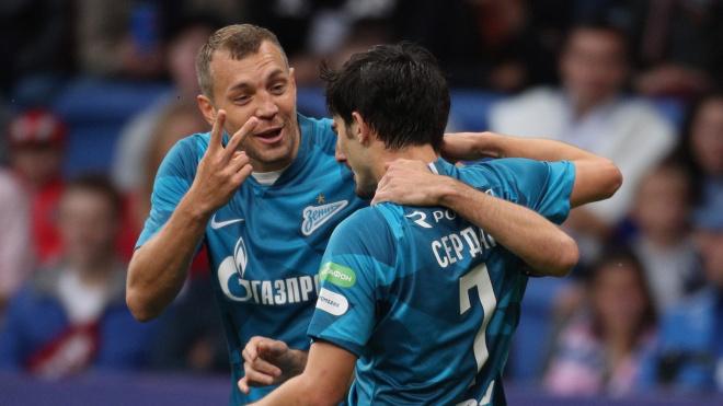 Дзюба сравнялся с Аршавиным по голам за футбольную карьеру