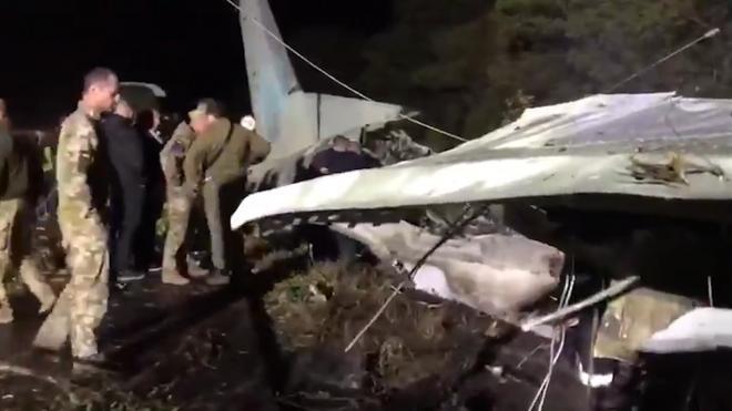 СБУ: разбившимся в Харьковской области самолетом управлял командир экипажа