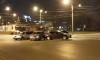 ДТП на Дыбенко остановило движение трамваев