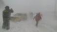 Появились фотографии лавины в центре Петропавловска-Камч...