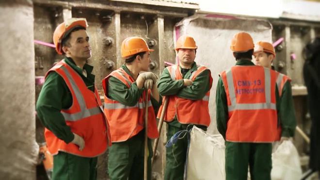 В Петербурге метростроевцы отказались выходить из шахты после ночной смены