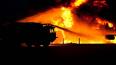 В Московском районе загорелся торговый павильон