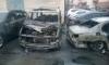 Причиной массового автопожара в Пушкине мог стать поджог