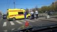 Лужи крови: на Будапештской жестко сбили велосипедиста