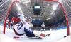 Второй период матча по хоккею Россия - США закончился со счётом 3:0