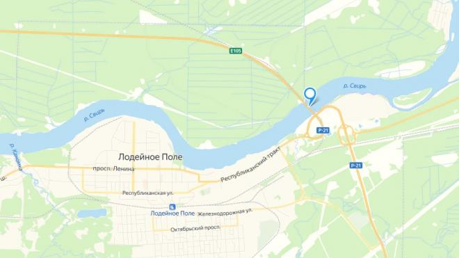 """На трассе """"Кола"""" на два часа остановят движение из-за разводки моста через Свирь"""