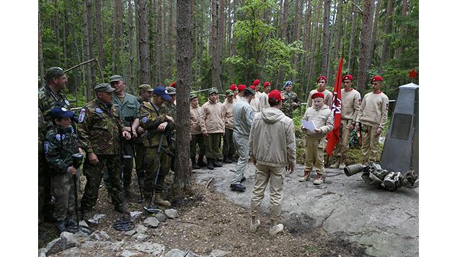 В Кронштадте началась вторая смена военно-патриотического лагеря
