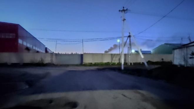 Мурино задыхается от выхлопов промышленного предприятия