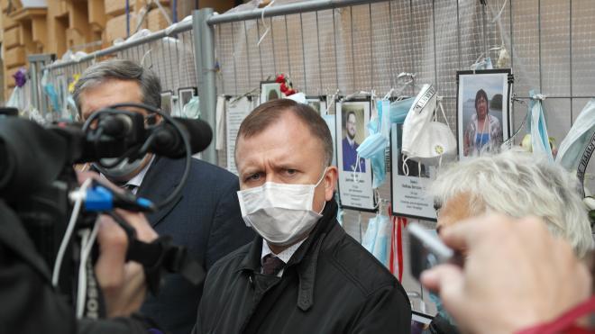 Глава комздрава Петербурга: количество умерших от COVID-19 медиков больше официальных цифр