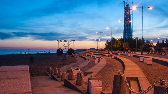 Жители Приморского района выступают против застройки парка 300-летия