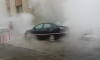 Дорогая Mazda сварилась в кипятке на Ленинском проспекте