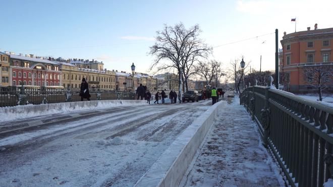 Петербург снова пережил самую холодную ночь с начала зимы