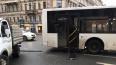Машина ЖКХ столкнулась с автобусом №15 на Невском ...