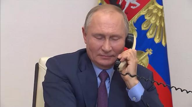 Путин поздравил Василия Ланового с 87-летием