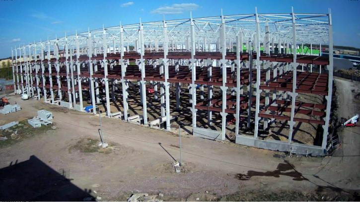 В Петербурге разморозили стройку крупнейшего в России склада для промопродукции