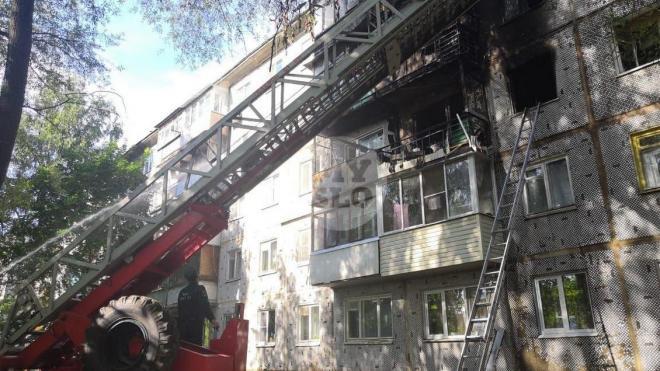 В Туле при пожаре в жилом доме погибли 3 человека