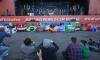 """На Конюшенной болельщики устроили стихийный """"парад флагов"""""""