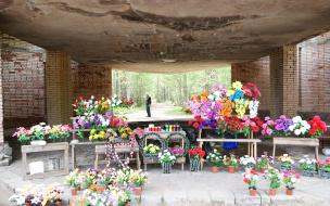 Администрация Выборгского района прокомментировала ситуацию с мусором на кладбищах