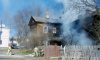 Причиной пожара на Красной улице в Гатчине стал мусор