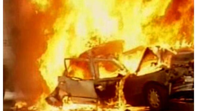В центре Багдада взорвался автомобиль