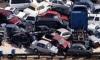 10 авто на полкилометра - крупная авария в Пушкине