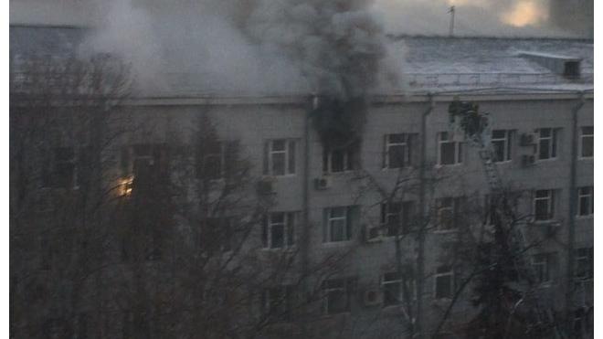 В Москве ищут загадочных поджигателей Дома культуры МВД