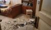 На Васильевском острове у одинокой пенсионерки упал потолок