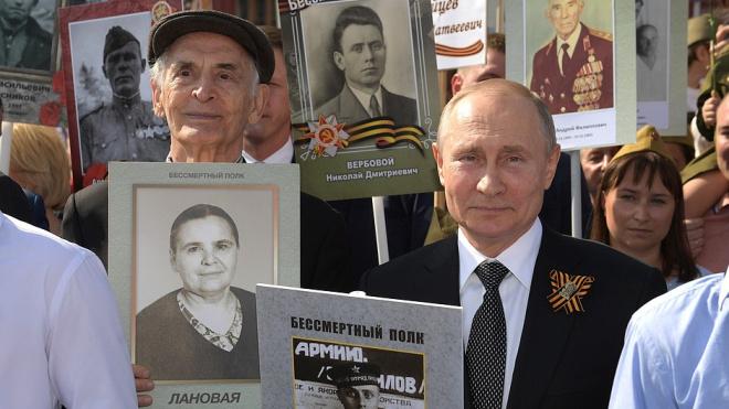 Владимир Путин объяснил, зачем проводятся парады и шествия в честь Дня Победы
