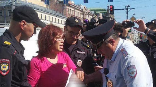 В Петербурге впервые применили статью за неуважение к власти