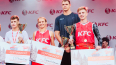 Спортсмены из Петербурга получили главный приз KFC ...