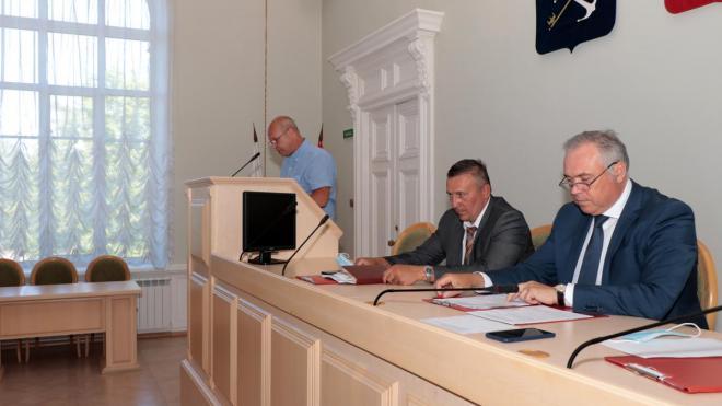 В Выборгском районе состоялось заседание совета депутатов
