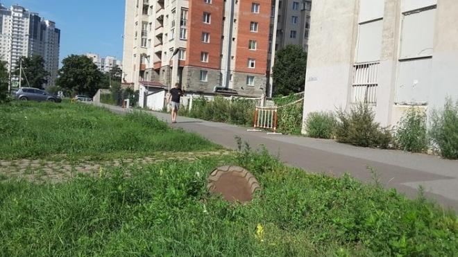 На Васильевском острове школьница упала в открытый люк