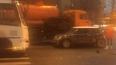 На Бабушкина столкнулись MINI Cooper и маршрутка: ...