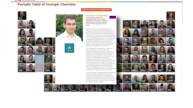 Учёный из Ленобласти вошел в рейтинг лучших молодых химиков мира