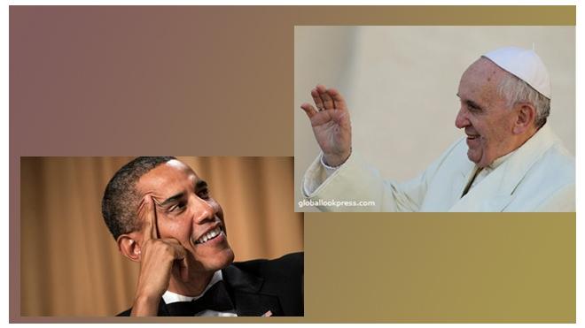 Обама подарил папе римскому семена овощей...