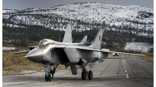 В Приморье разбился военный самолет МиГ-31