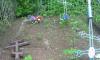 Вандалы повалили кресты на Волховском кладбище