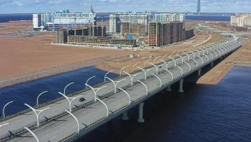 """Строительство Широтной магистрали выведет Петербург """"в премьер-лигу мировых мегаполисов"""""""