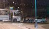 В Пушкине в ДТП попал автобус с пассажирами