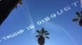 Небо над Калифорнией оскорбило миллиардера Трампа