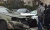 "На Лени Голикова утром столкнулись два ""Шевроле"" и ""Форд"""