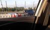 Петербуржцы стояли в трехкилометровой пробке из-за ДТП на КАД
