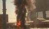 Водитель чудом спасся из горящего КамАЗа на МКАД