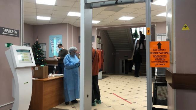 В Петербурге показали работу нового COVID-детектора