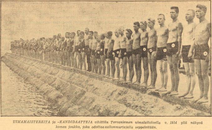 30 лет Выборгскому обществу пловцов Газета Karjala