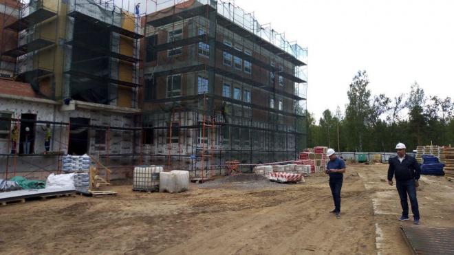 Детский сад в Выборгском районе Петербурга могут открыть в конце 2019 года