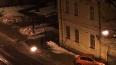 На Обуховской Обороны пьяный шофер влетел в стену дома