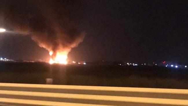 Пожар в промзоне на Волховском шоссе был локализован