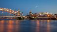 Мосты в Петербурге не будут разводить в ночь на 10 мая